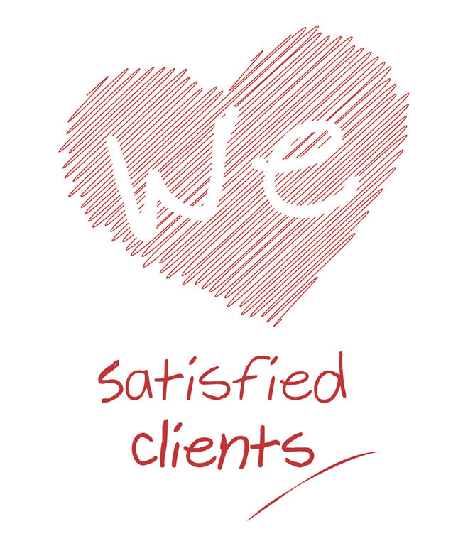 satisfied clients